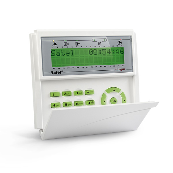 LCD keypad for INTEGRA control panels INT-KLCD-GR